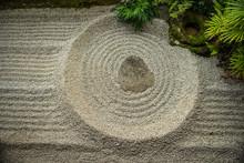 Zen Garden Detail, Japan