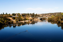 Lake Natoma And Rainbow Bridge...