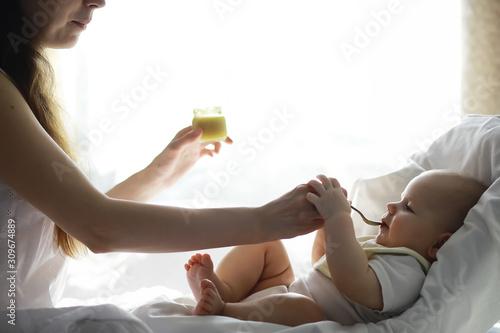 Maternity concept Canvas Print