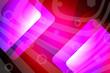 Leinwandbild Motiv abstract, blue, design, wallpaper, illustration, light, pattern, graphic, texture, pink, backdrop, technology, lines, red, geometric, purple, art, white, bright, digital, colorful, color, backgrounds