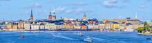 Panoramic View At Stockholm Ol...