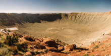 Inside Meteor Crater With View...