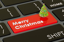 Merry Christmas Keyboard Butto...