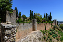 """Castle Called """"Convent Of Christ"""" In Coimbra, Portugal"""
