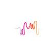 soundwave illustration logo icon vector template.