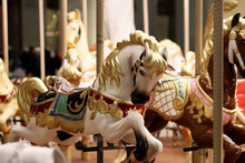 Carousel With Horses. Carousel...