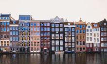 Amsterdam Jordaan Neighborhood Houses