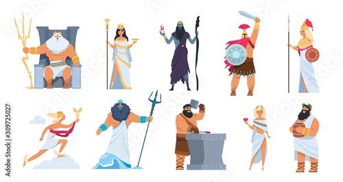 Fototapeta Greek gods