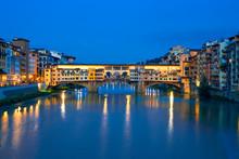 Ponte Vecchio Bridge Over Arn...