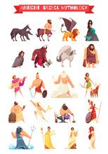Greek Gods Mythical Creatures ...