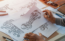 Typography Calligraphy Artist ...