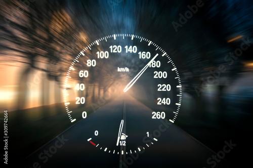 Fotografía  speedometer