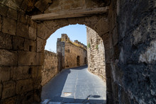 Entrance Gate In The City Wall...