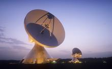 Satellite Dish In Bavaria , Ge...