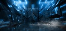 Smoke Sci Fi Phantom Blue Glow...