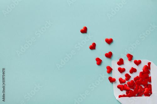 Valentine day concept Fototapete