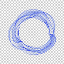 Abstract Dynamic Vortex Circle...
