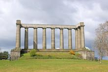 The National Monument On Calton Hill, Edinburgh