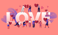 Love And Heartbreak Concept. H...