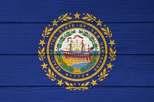New Hampshire Flag Color Paint...