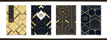Templates In Art Deco Style Fo...