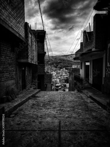 Fotografie, Obraz  street in old town