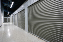 Storage Facilities With Gray D...