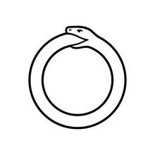 Ouroboros Snake Symbol