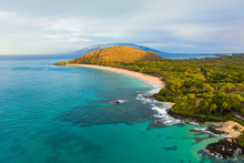 High Angle View Of Makena Stat...