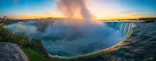 Sunrise At Niagara Falls. View...