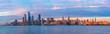 Panoramic view of Midtown Manhattan from Hoboken, Jersey City, New Jersey