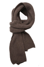 Brown Warm Scarf
