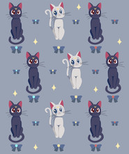Illustration Of A Sailor Moon'...
