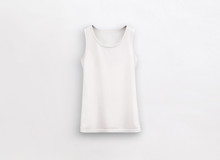 Fitness Tank Top White