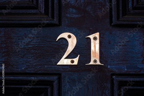 Papel de parede House number 21