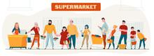 Supermarket Horizontal Composi...
