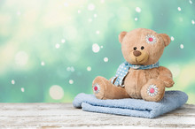 Stuffed Toy Of Bear With Towel...
