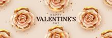 Happy Valentine's Day. Backgro...