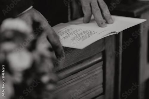 Lire la prière Fototapeta