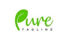 Pure Logo Design Concept Edita...