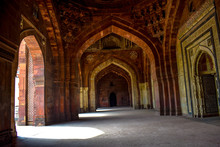 Old Architecture Building Located In India, Old Beautiful Structure Building Outside View, Architecture Structures Of India