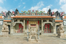 Pak Tai Temple At Cheung Chau ...