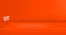 Vector,Empty Vivid Red Orange ...