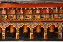 Prayer Wheels, Thimpu, Bhutan