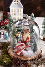 Christmas Retro Decoration Wit...