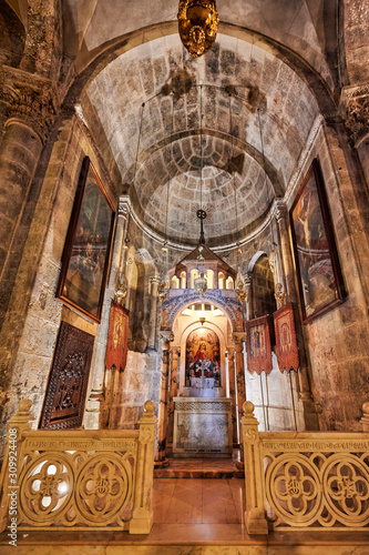Jerusalem Israel. The church of the Holy Sepulchre Wallpaper Mural