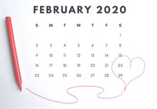 Monthly Calendar Of The 2020 Y...