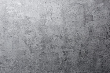 Shabby abstract gray metallic background. Aged grunge texture with scratches ...