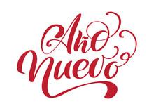 Ano Nuevo Handwritten Calligra...