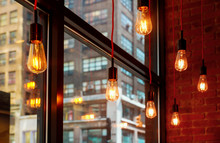 Modern Shining Lamps Un The Of...